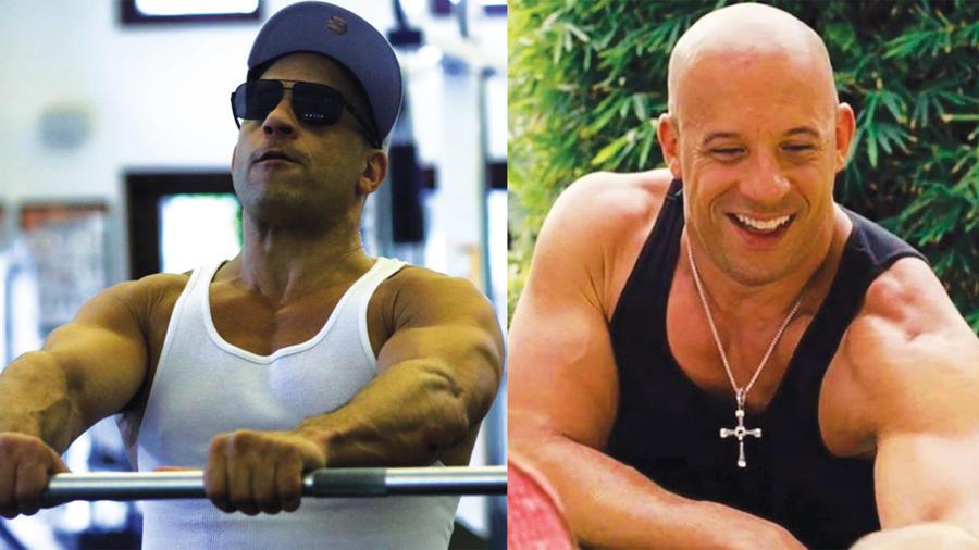 Vin Diesel y su cuerpazo