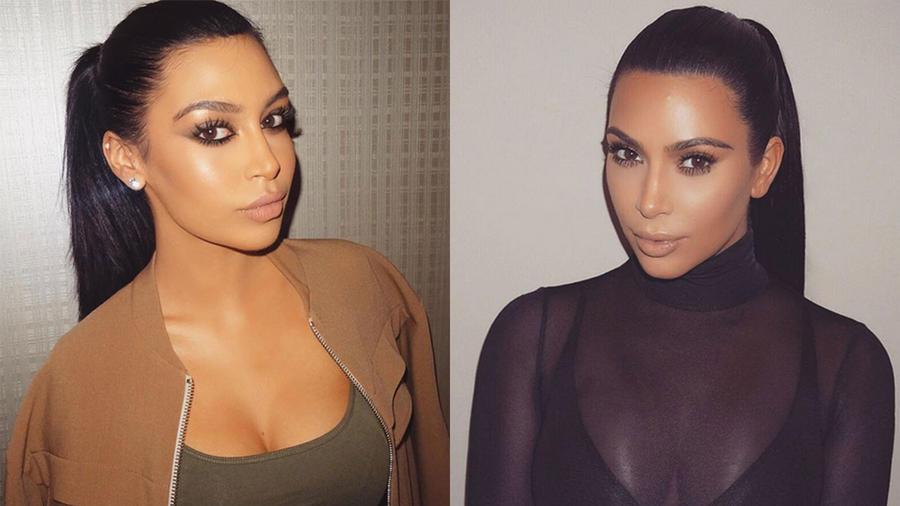Sonia Ali, la doble de Kim Kardashian