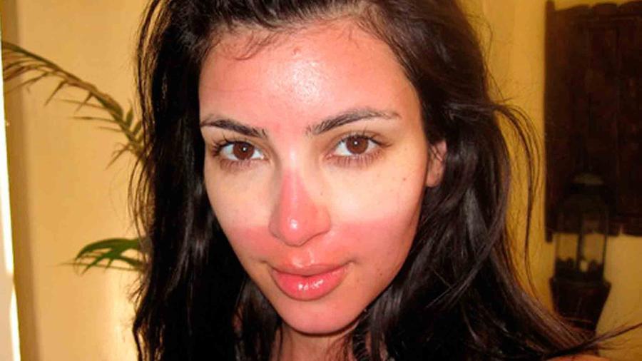Selfie de Kim Kardashian