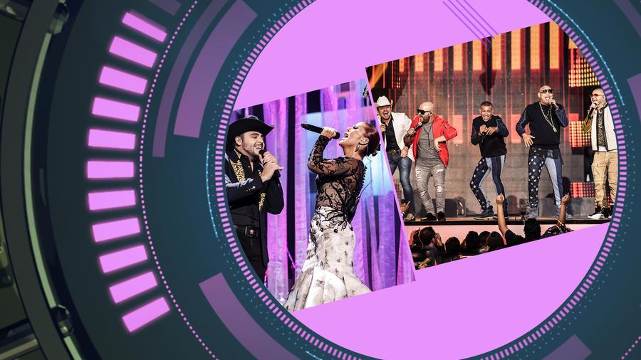 Presentaciones Premios Billboard 2016