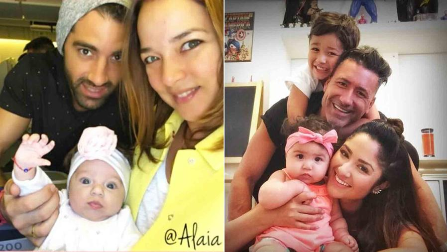 Adamari López, Toni Costa y Alaïa, Jorge Bernal, Karla Birbragher, Lucas y Kylie Rose