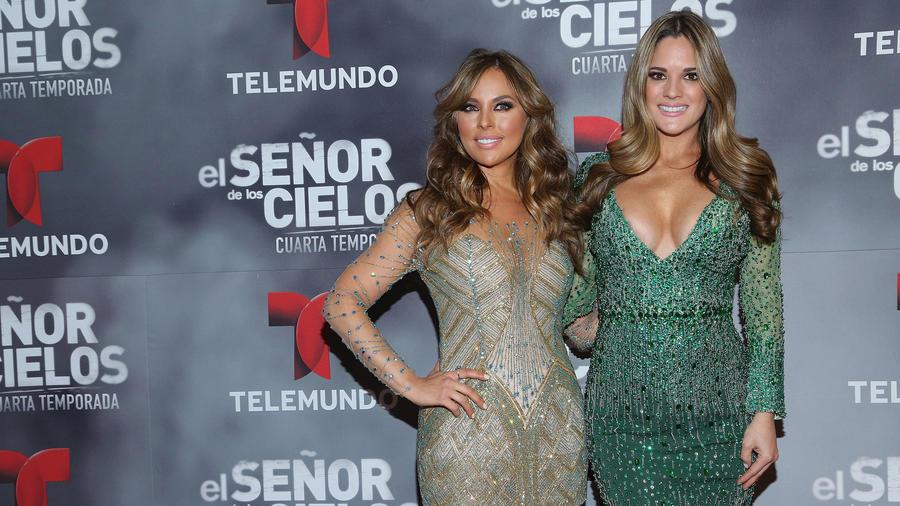 Vanessa Villela y Sabrina Seara El Señor de Los Cielos Premier 2016