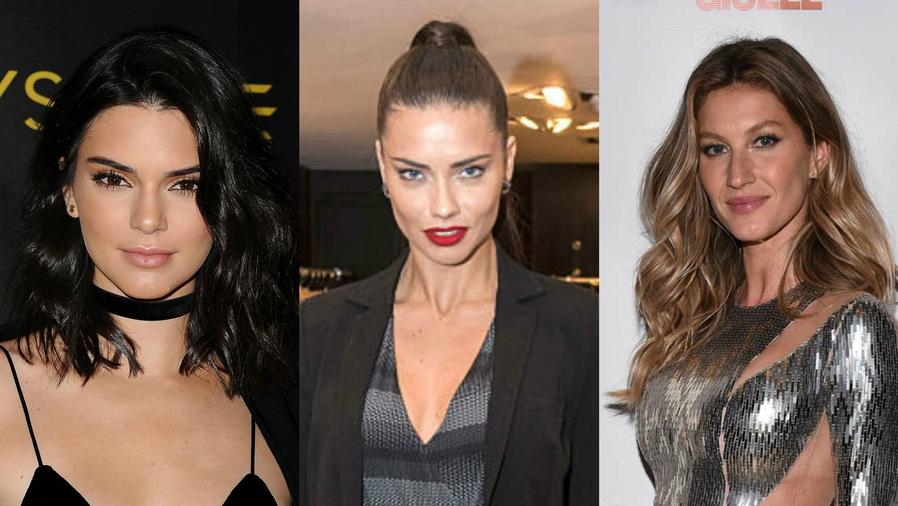 Kendal Jenner, Adriana Lima y Gisele Bündchen