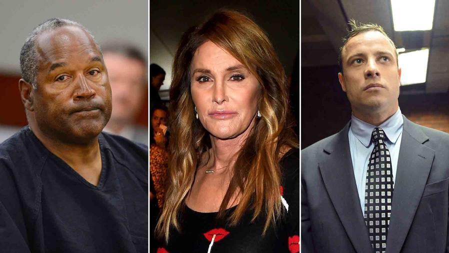 Caitlyn Jenner, Oscar Pistorious y OJ Simpson