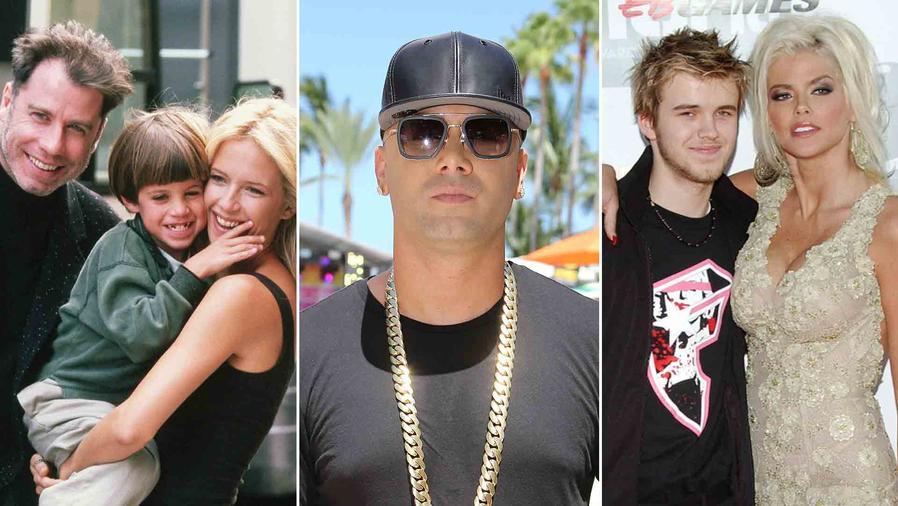Wisin, John Travolta, Anna Nicole Smith