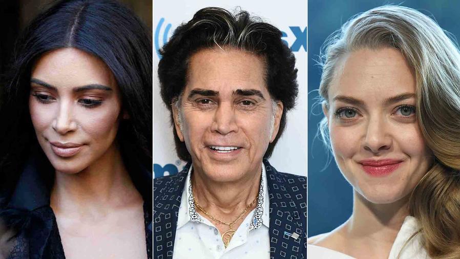 Kim Kardashian, El Puma y Amanda Seyfried