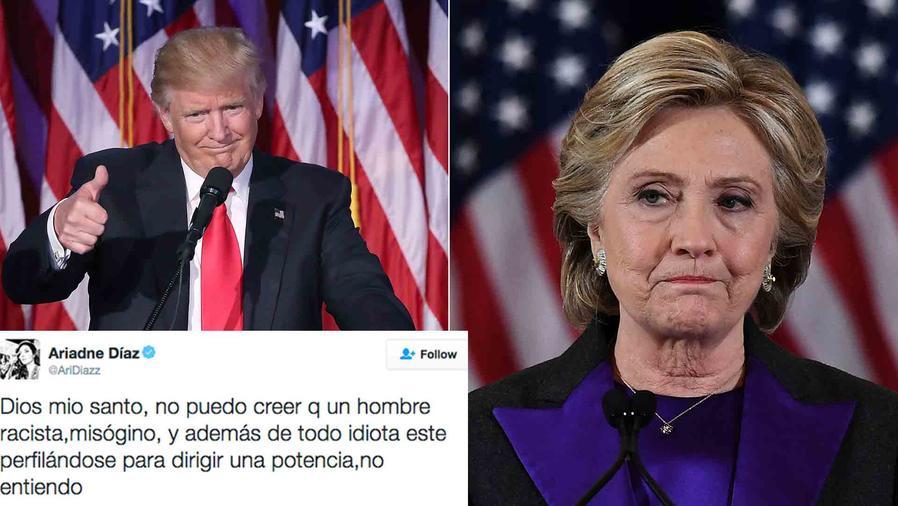Donald Trump y Hillary Clinton
