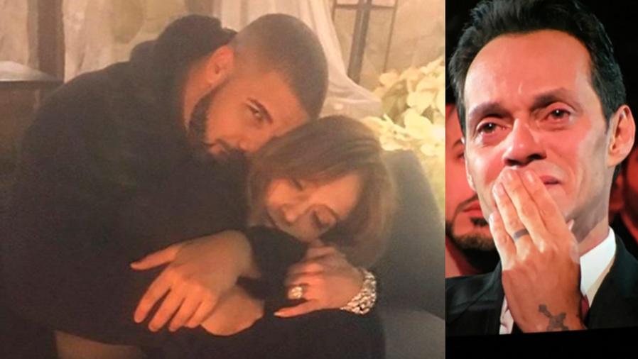 Marc Anthony, Jennifer López y Drake, protagonistas de una catarata de memes.