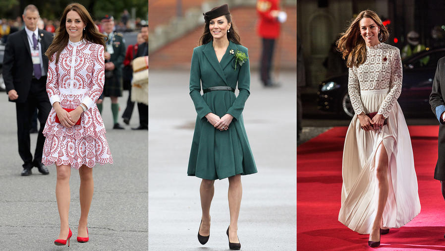 Los distintos looks de Kate Middleton