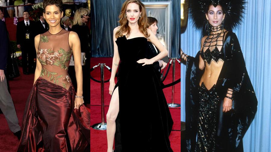 Halle Berry, Angelina Jolie y Cher en los Oscars
