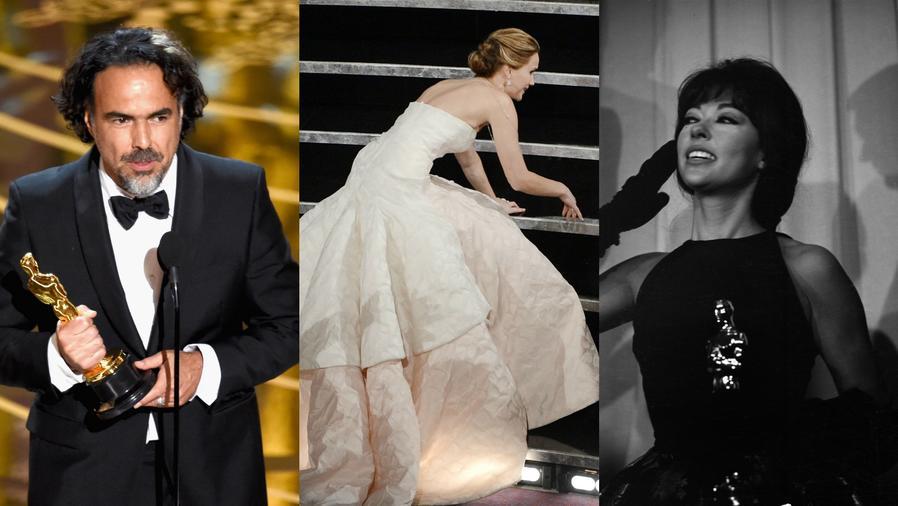 Alejandro Gonzáles Iñárritu, Jennifer Lawrence, Rita Moreno.