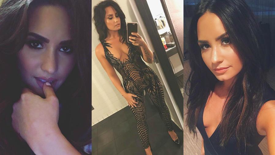 Demi Lovato a través de su cuenta de Instagram.