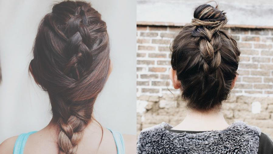 Collage de trenzas.