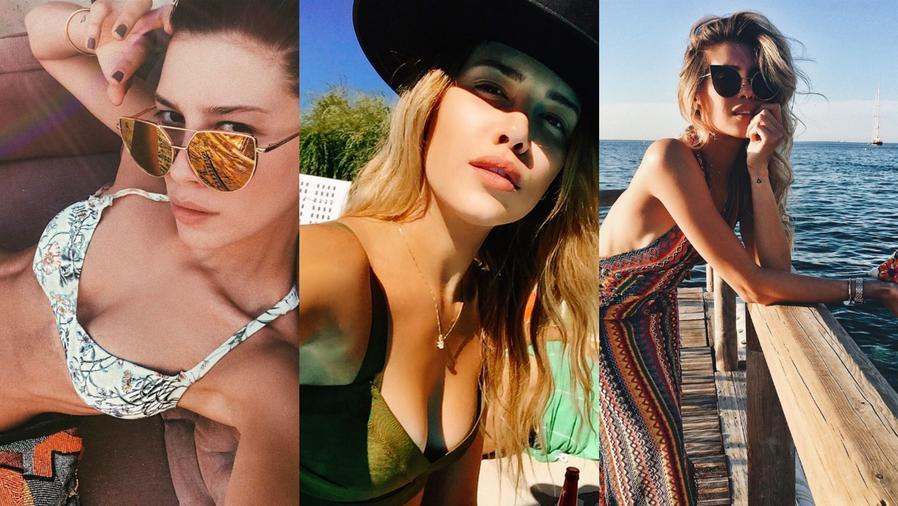 Collage de fotos de Michelle Salas