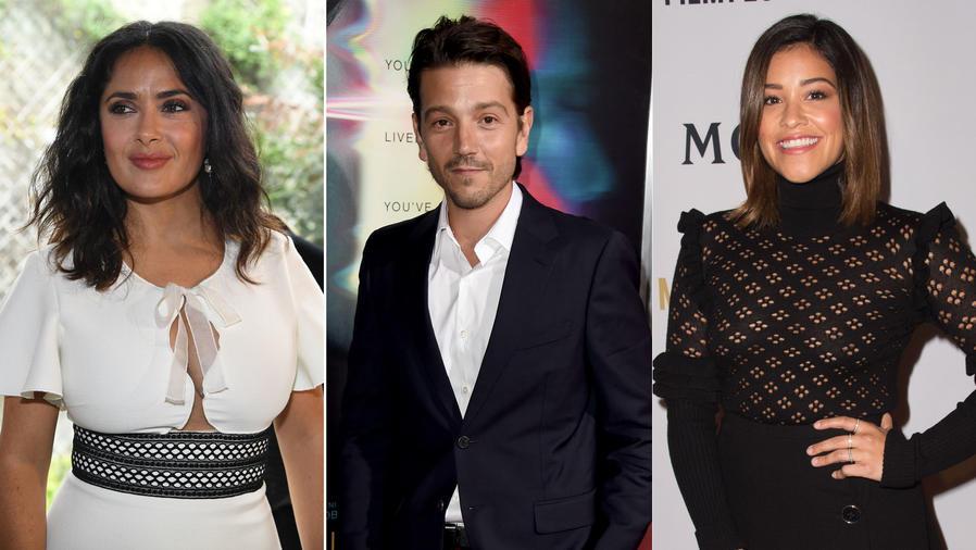 Salma Hayek, Diego Luna, Gina Rodriguez