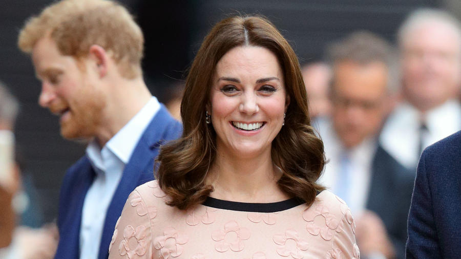Kate Middleton en evento de caridad
