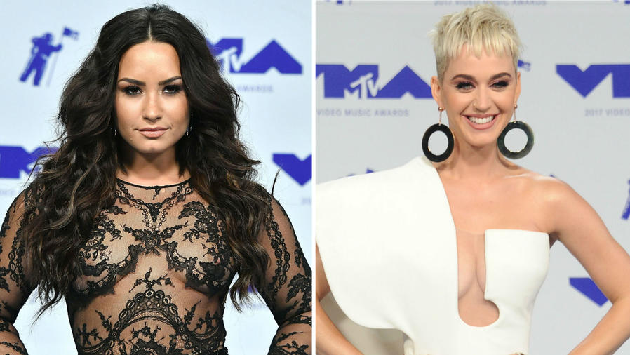 Demi Lovato y Katy Perry