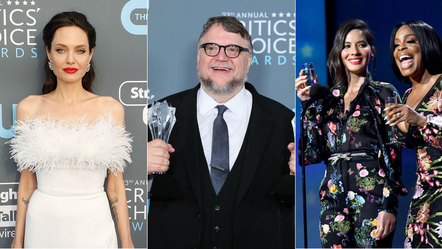 Angelina Jolie, Guillermo del Toro, Olivia Munn y Niecy Nash