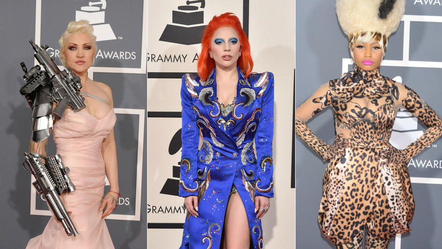 Sasha Gradiva, Lady Gaga, Nicki Minaj, Grammy Awards