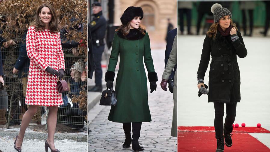 Los looks de Kate Middleton en Suecia