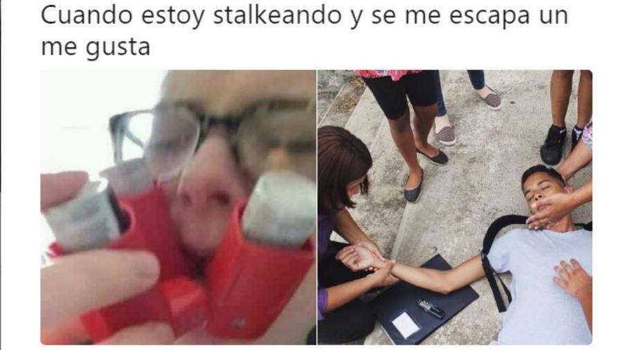 Meme stalker
