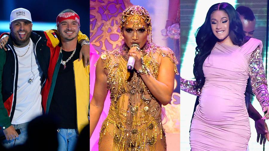Los mejores momentos de Premios Billboard