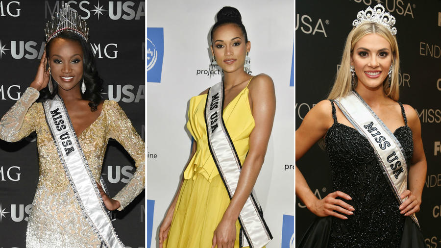 Collage Miss USA 2016, 2017 y 2018
