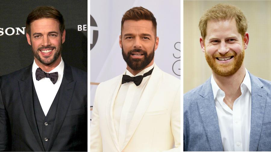 William Levy, Ricky Martin y el príncipe Harry