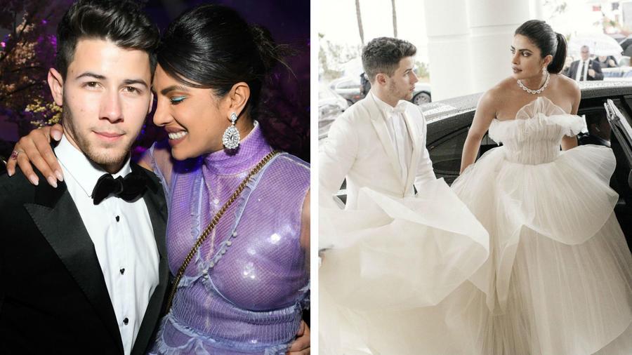 Priyanka Chopra y Nick Jonas en Cannes 2019