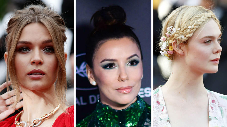 Elle Fanning, Josephine Skriver y Eva Longoria en Cannes 2019