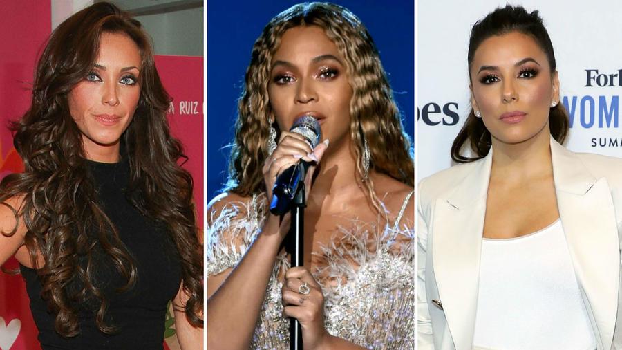 Anahí, Beyoncé y Eva Longoria