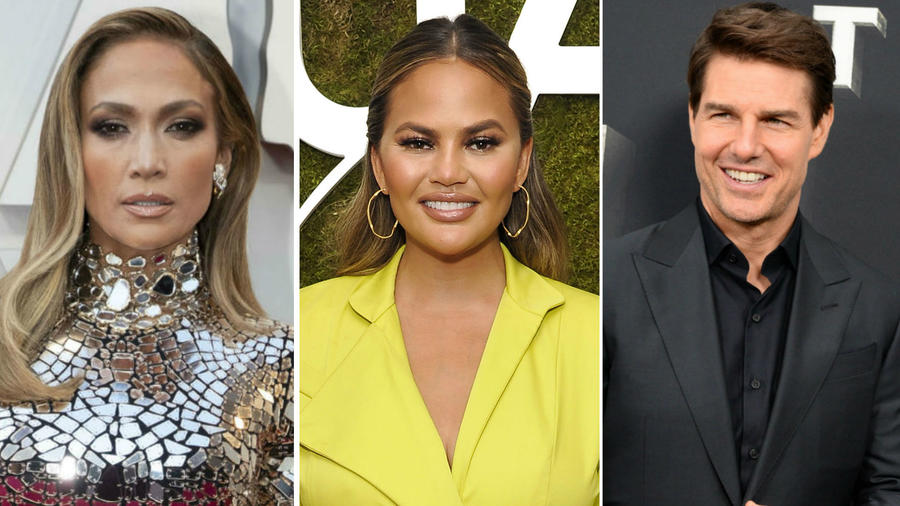 JLo, Chrissy Teigen y Tom Cruise