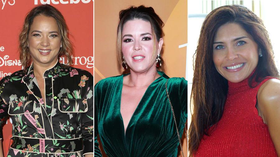 Adamari López, Alicia Machado y Lorena Meritano