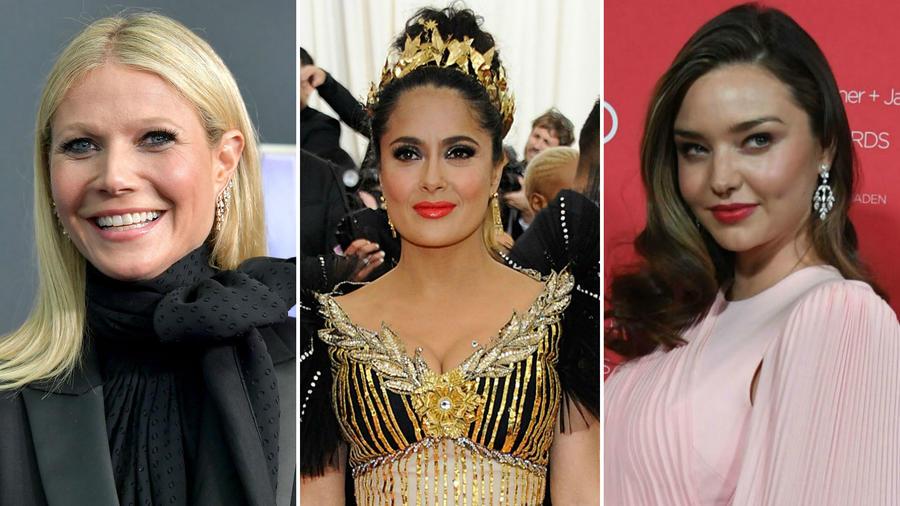 Gwyneth Paltrow, Salma Hayek y Miranda Kerr