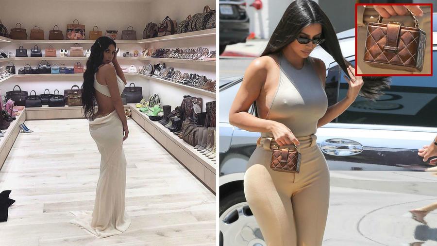 Kim Kardashian y su colección de bolsos