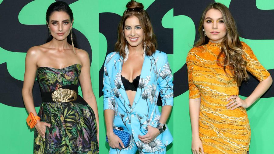 Aislinn Derbez, Sofía Castro, Carmen Aub Spotify Awards 2020