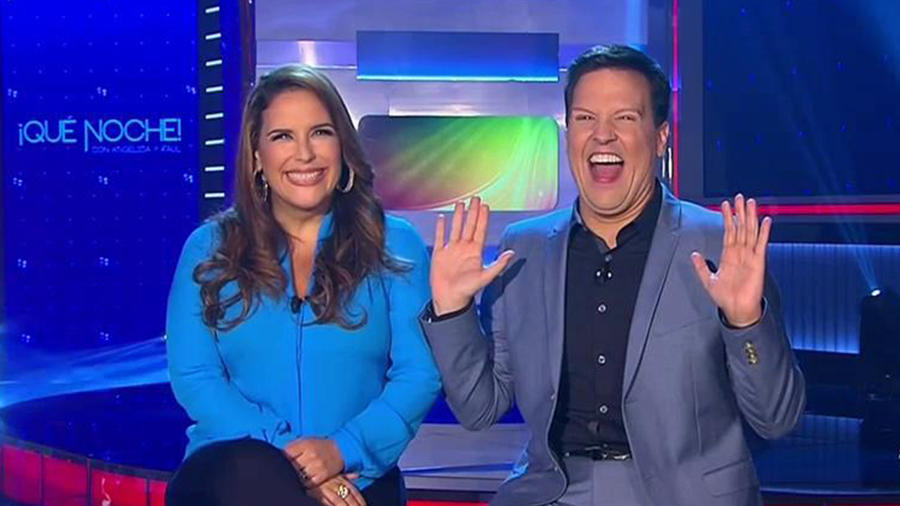 Angelica Vale y Raul Gonzalez en lo mejor de QUE NOCHE