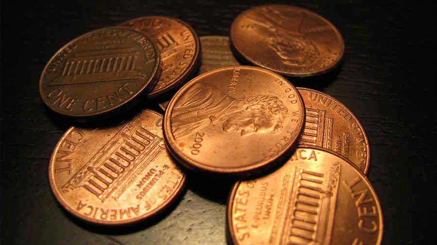 Algunas monedas de un centavo valen una fortuna