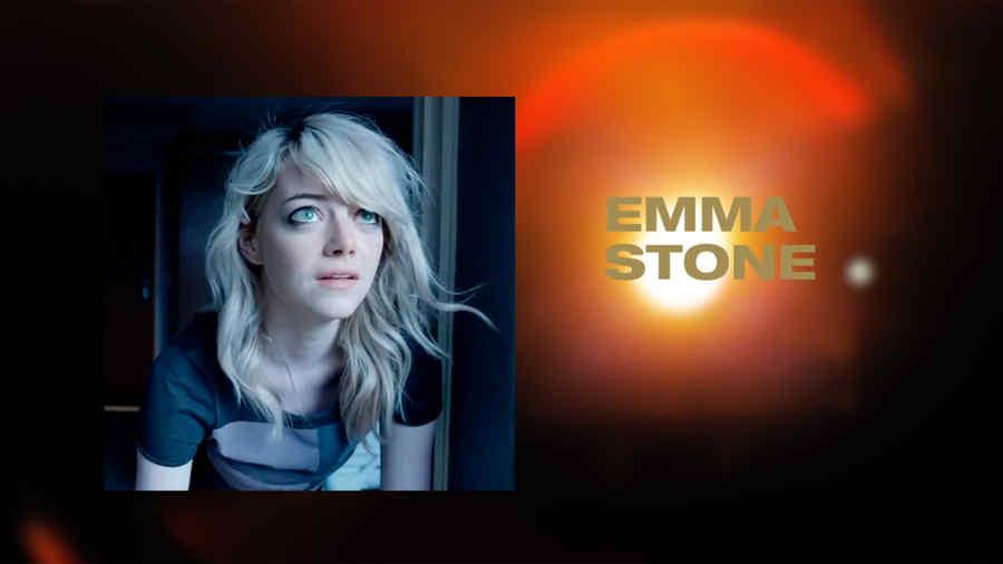 Emma Stone, nominada en la categoría mejor actriz de reparto en los premios Oscar 2015.
