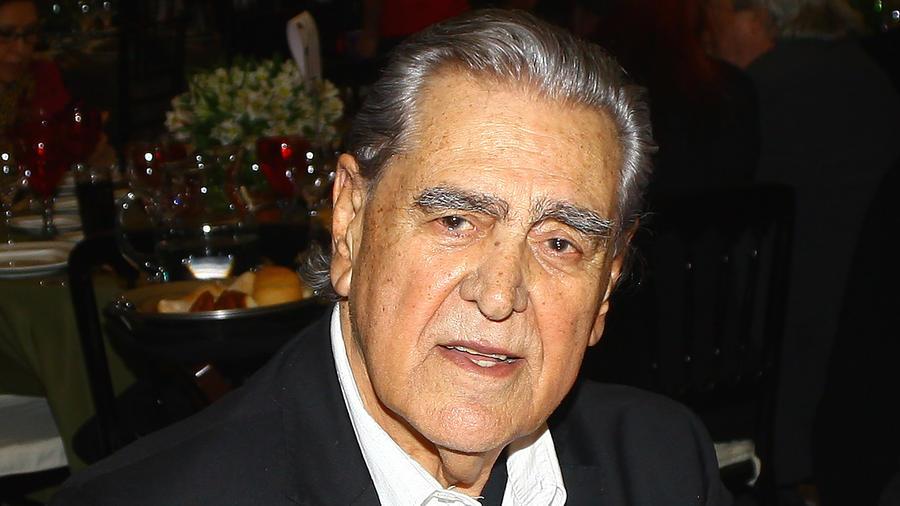 Eric del Castillo en la comida anual que organiza la Sociedad de Autores y Compositores de México