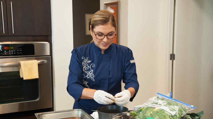 Lorena García en Top Chef Estrellas