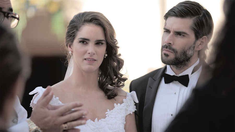 Juan Pablo Llano, Maria Luisa Flores, boda, Dueños del Paraíso