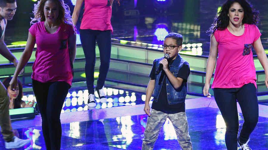 Jonael Santiago, presentacion, semifinal, la voz kids