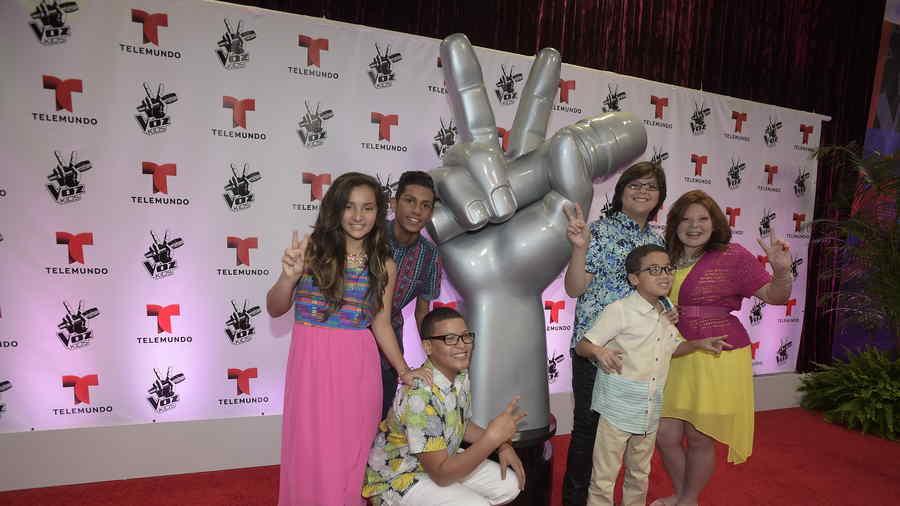finalistas, la voz kids, gran final, alfombra roja