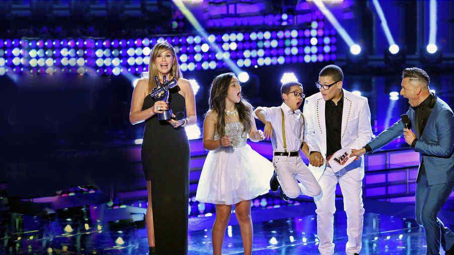 Jonael Santiago, finalistas, la voz kids, momento ganador