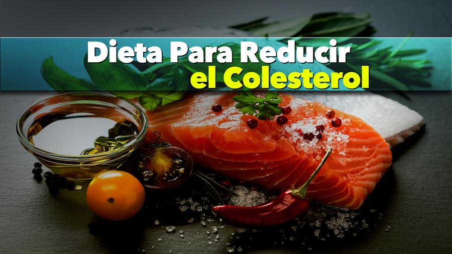 dieta para redecir el coelsterol
