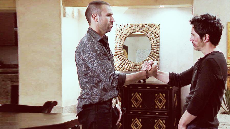 Rafael Amaya, Mauricio Ochmann juntos en El Señor de los Cielos 3