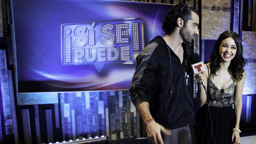 Toni Costa en entrevista con Caeli en el show 5 de Sí Se Puede