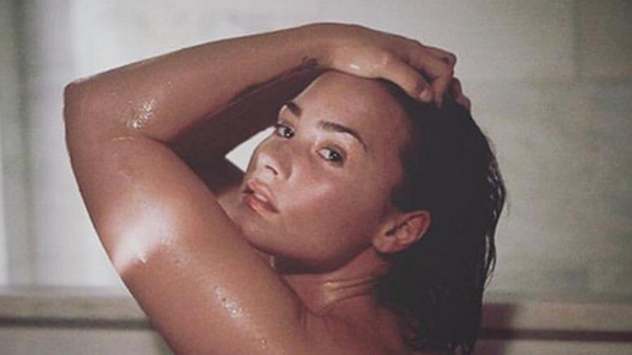 Demi Lovato sin maquillaje