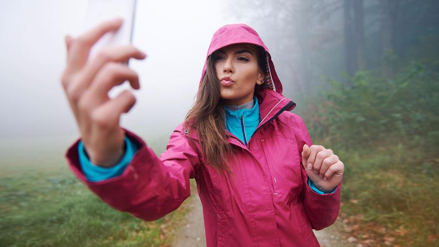 reglas para el selfie perfecto: tu cara debe ocupar un tercio del espacio